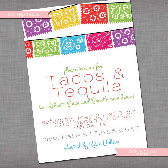 Housewarming Fiesta Invitation
