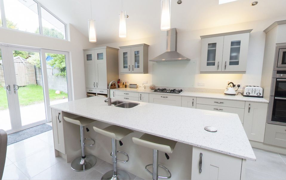 fetching home extension ideas. 3 bed semi kitchen extension  Google Search Kitchen ideas