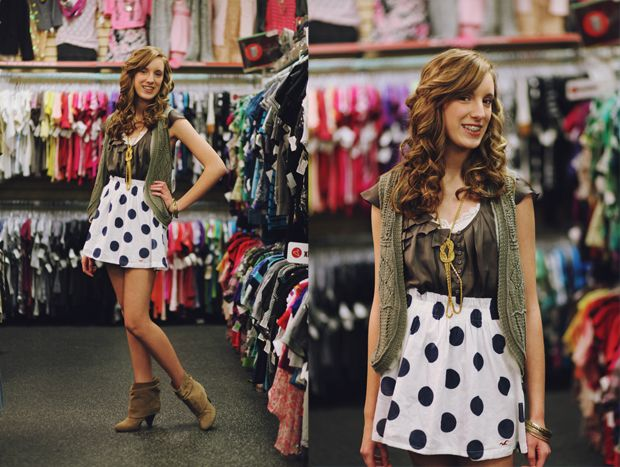 Violette in Plato's Closet Cheyenne looking all sorts of