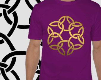 3f969df813b4 Mandala Tshirt - Geometric Tee- Sacred geometry Tshirt - Festival clothing  - Gift for him