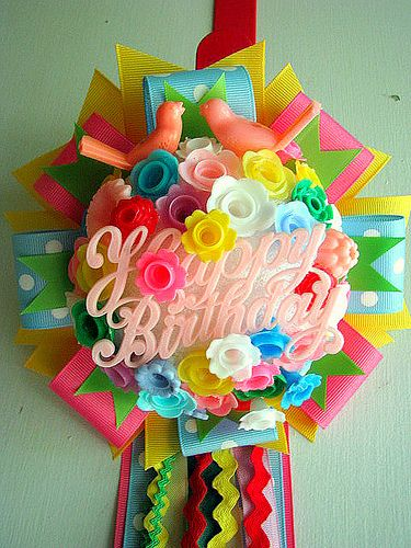 Birthday Corsage | Flickr - Photo Sharing!