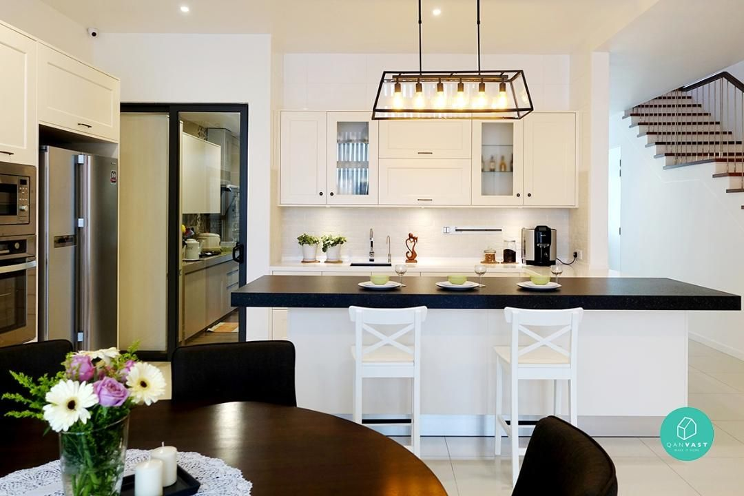 6 Practical Wet And Dry Kitchen Ideas In Malaysia Sanfitloft