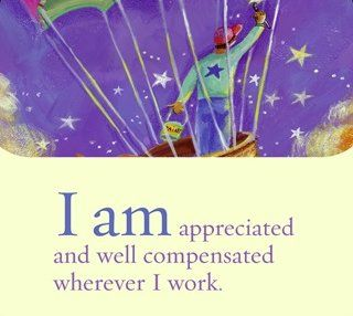 i am appreciated and well compensated wherever i work louise l