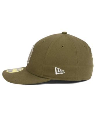 New Era San Diego Padres Low Profile Ac Performance 59FIFTY Cap - Brown 7 5/8