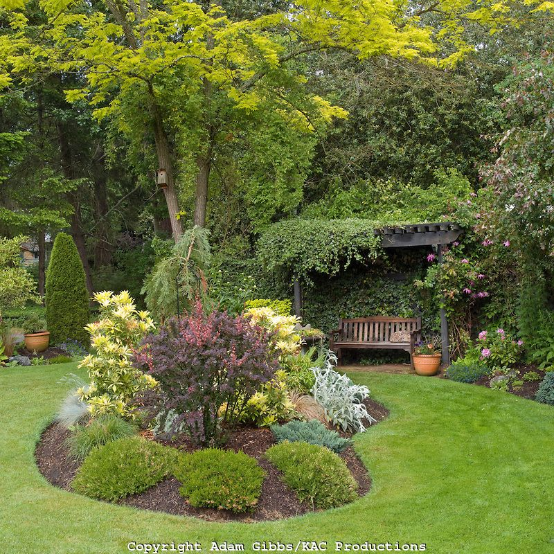 Flower Bed Designs kidney shaped flower bed leads the way to a