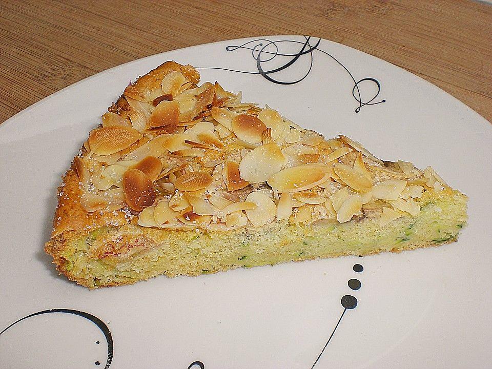 Zucchini Biskuit Mit Apfel Biskuit Zucchini Und Apfel