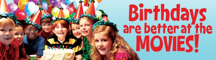 Hold A Party At The Regal Cinemas Off I Childrens Birthday - Children's birthday party atlanta