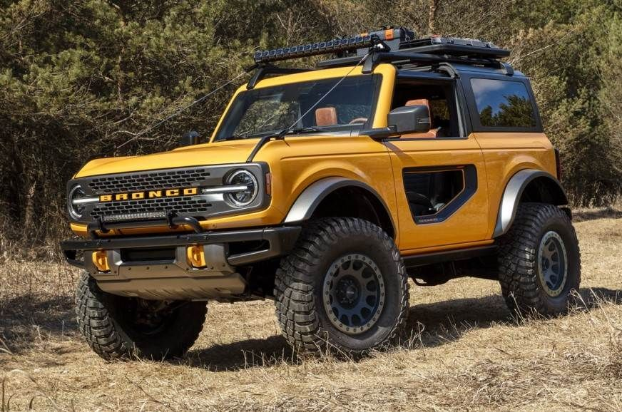 2021 Ford Bronco SUV details and pictures Autocar India