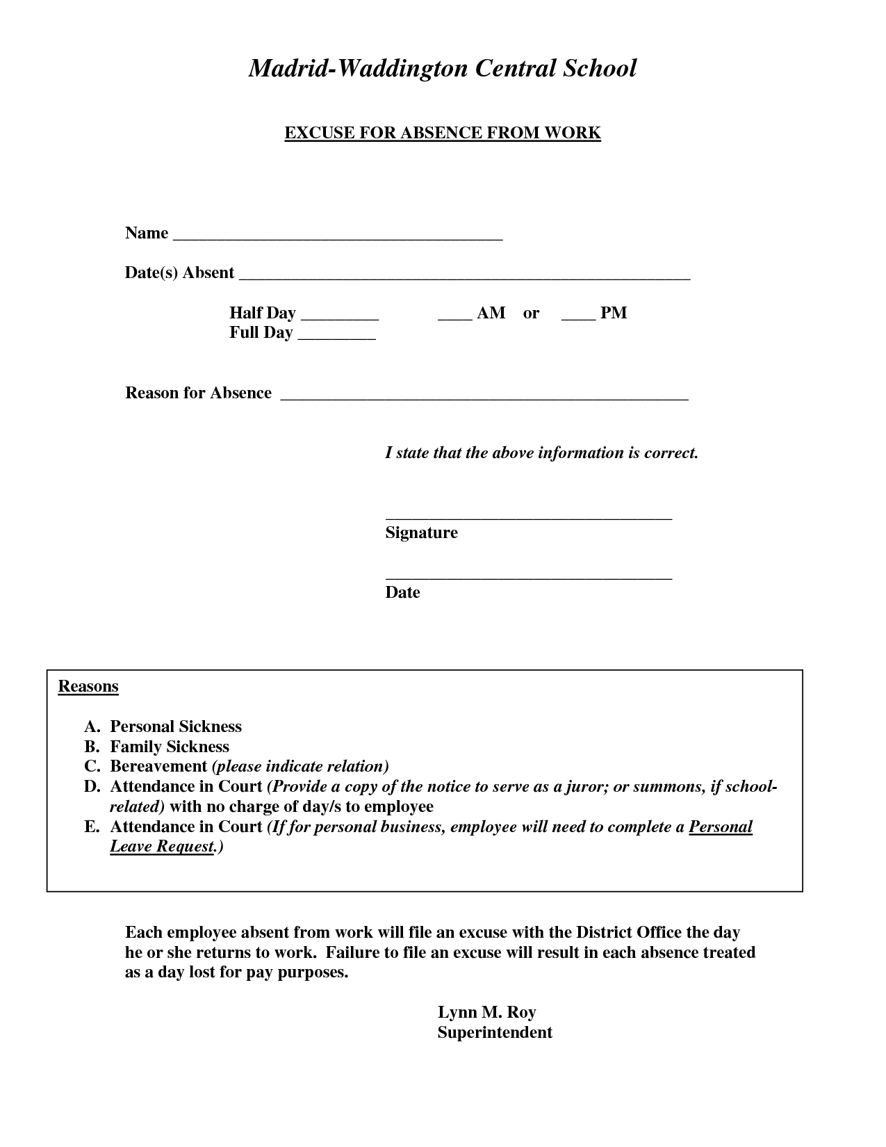 Absent Work Template Grude Interpretomics Co