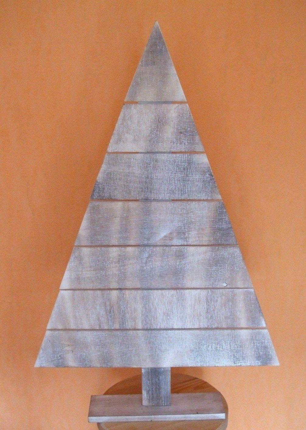 Holz tannenbaum weihnachten holz baum deko in m bel - Tannenbaum dekoration ...