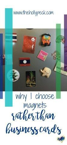 Why I Choose Magnets Rather than Business Cards