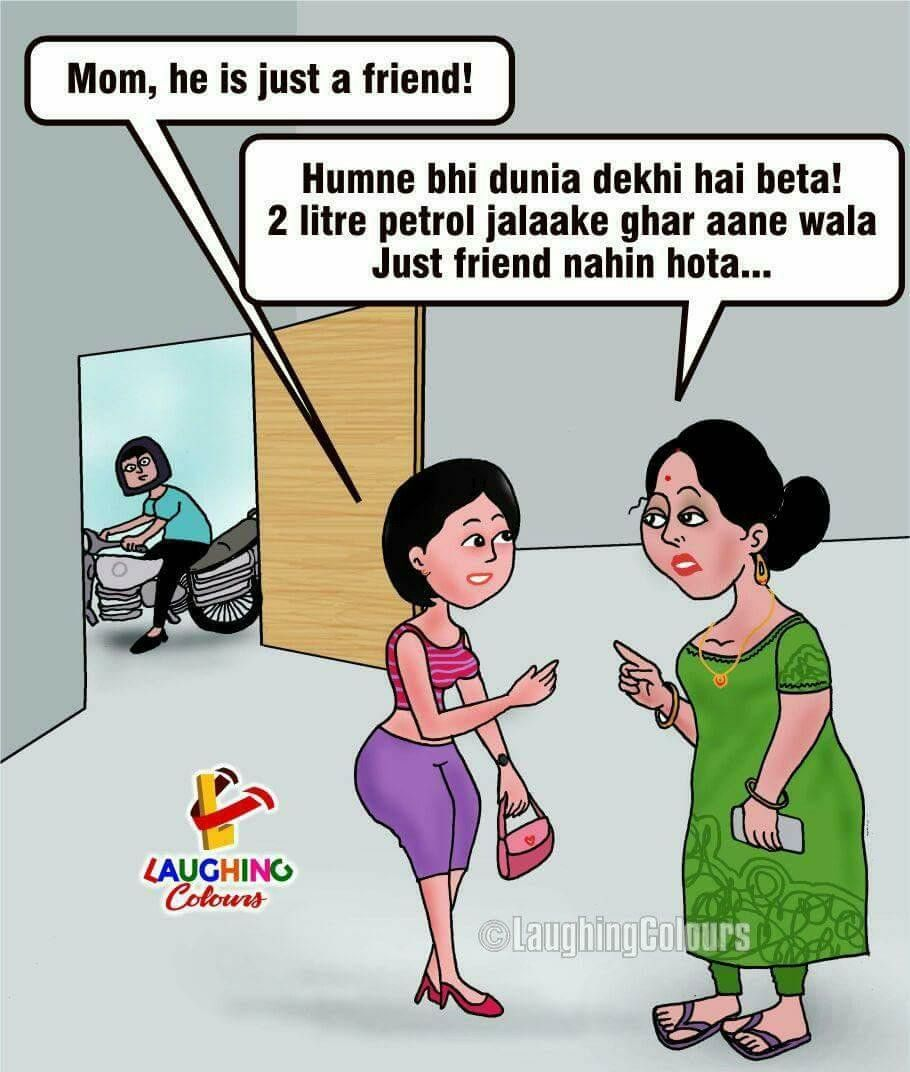 Pin by Jasvinder Kaur on He & She humour Laughing colors