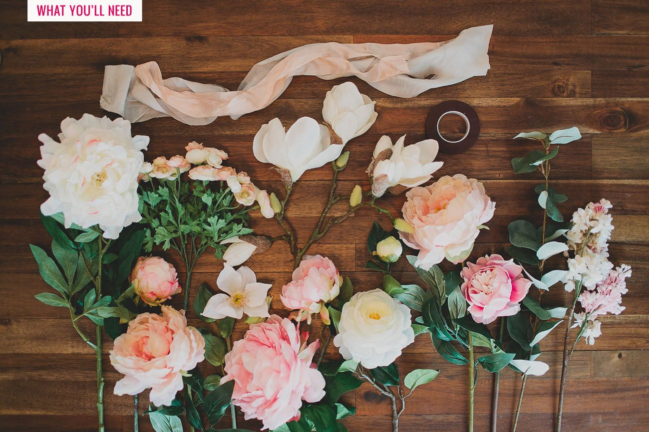 How To Make A Wedding Bouquet With Artificial Flowers.Diy Silk Flower Bouquet With Afloral Wedding Flowers Silk Flower