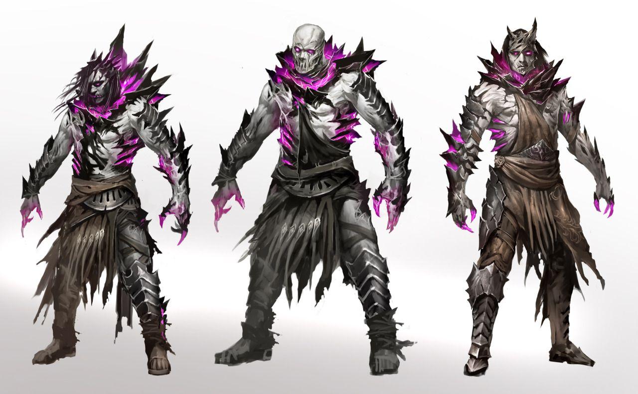 kekai kotaki - Branded Humans   Fantasy/Sci-Fi Art   Guild wars