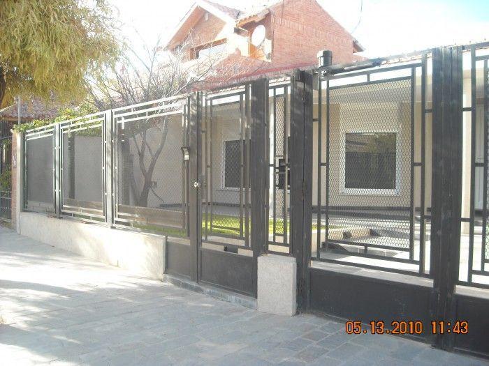 700 525 frentes - Rejas de casas modernas ...