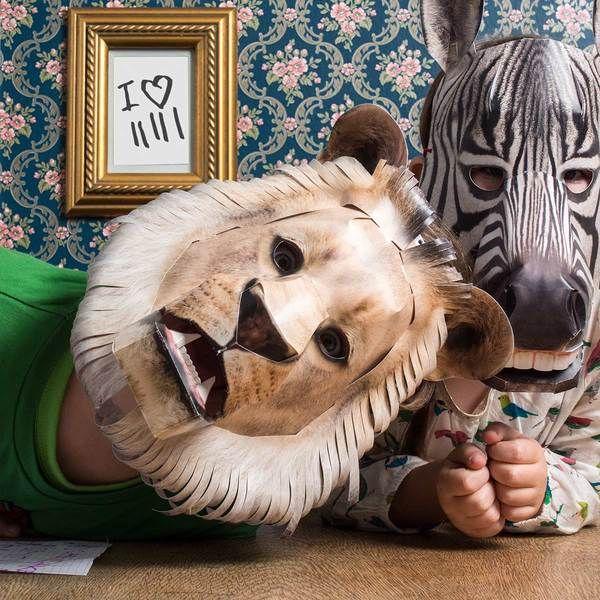 Maske Löwe von STUDIO HERING auf DaWanda.com