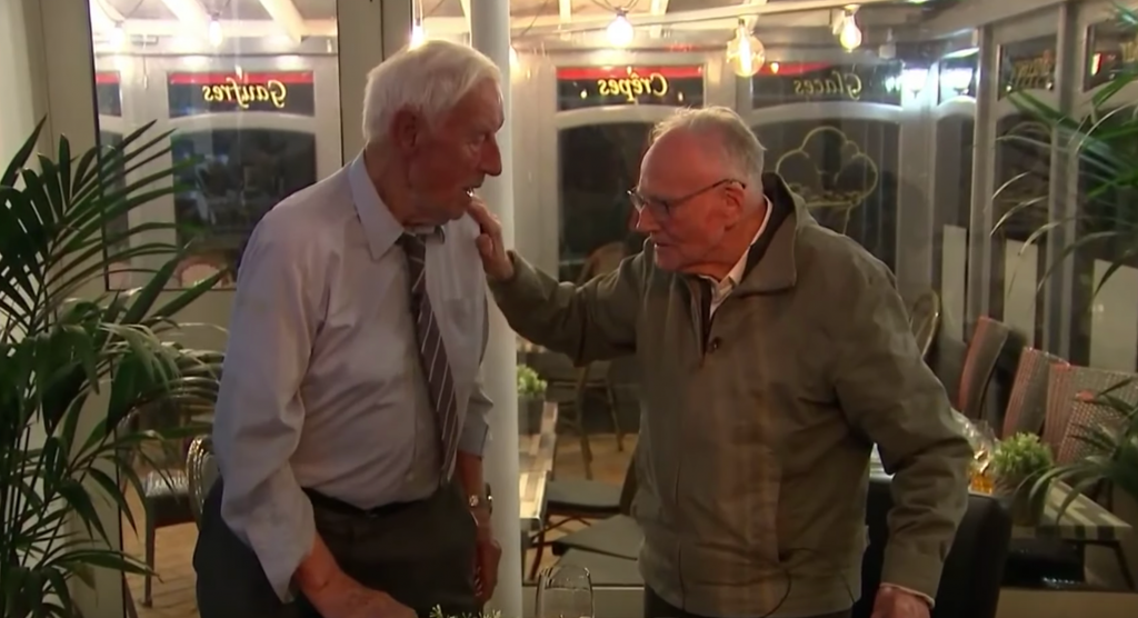 Wwii Enemies Meet Face To Face For 1st Time On D Day 75th