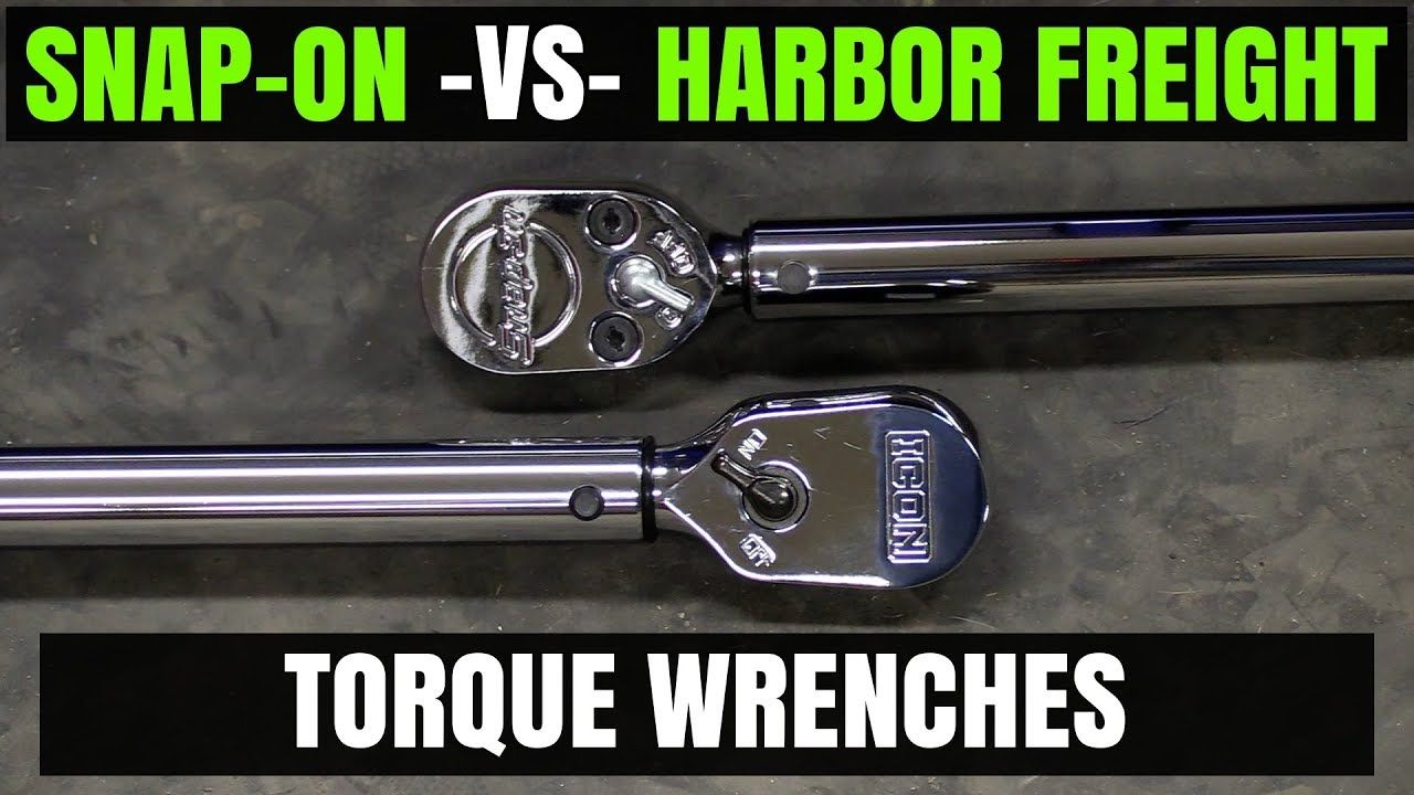 Snap-on - VS - Harbor Freight ( ICON ) 1/2