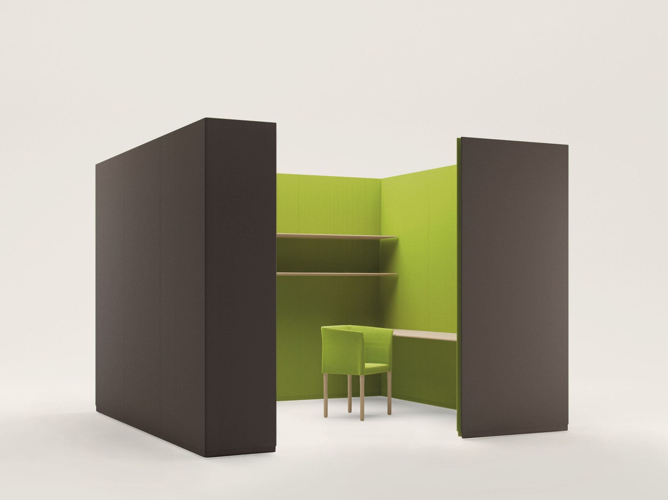 Free standing wall divider - Free Standing Fabric Room Divider Build Free Standing Workstation Screen Paola Lenti