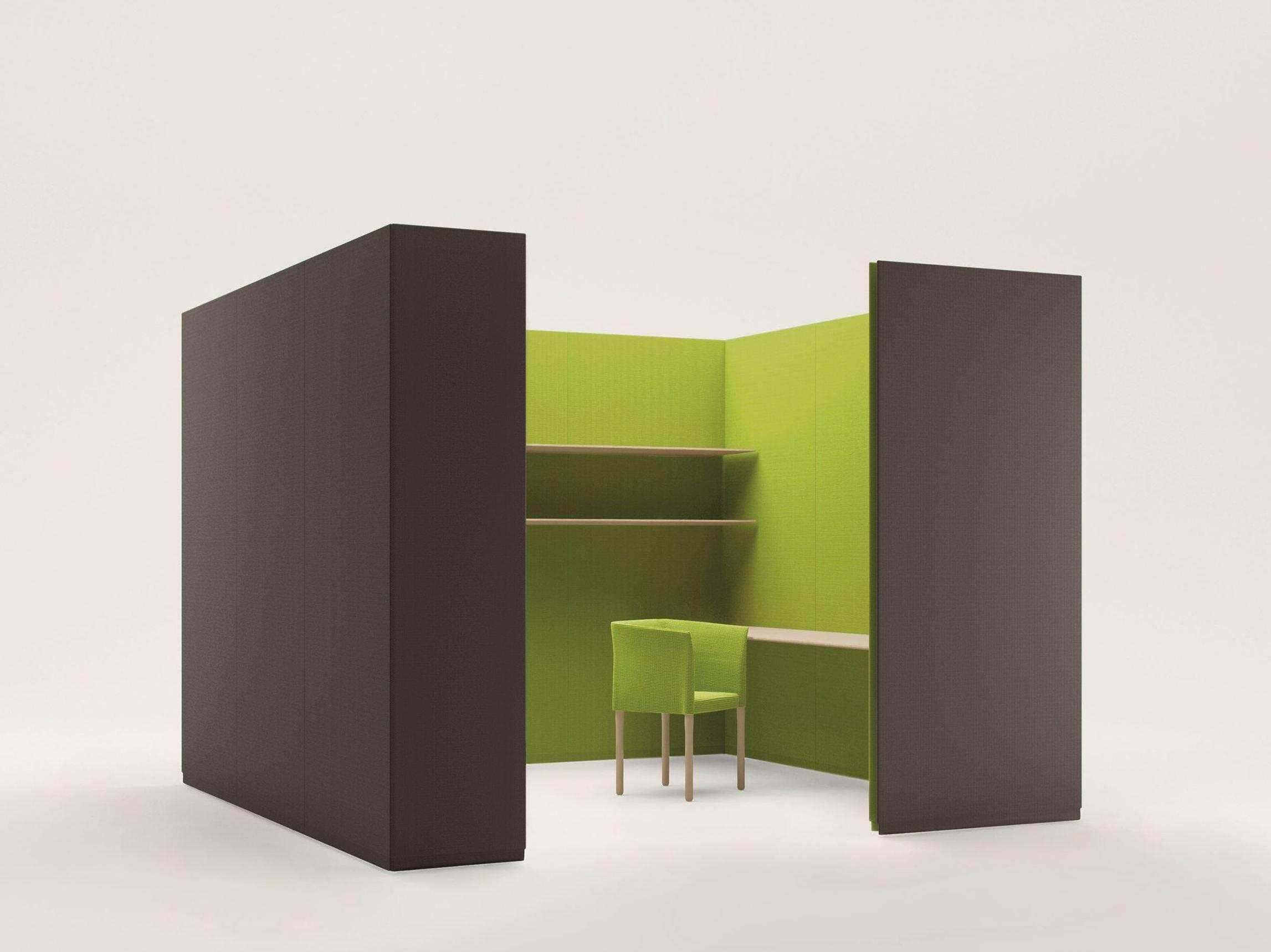 Build Free Standing Workstation Screen By Paola Lenti Design Francesco Rota