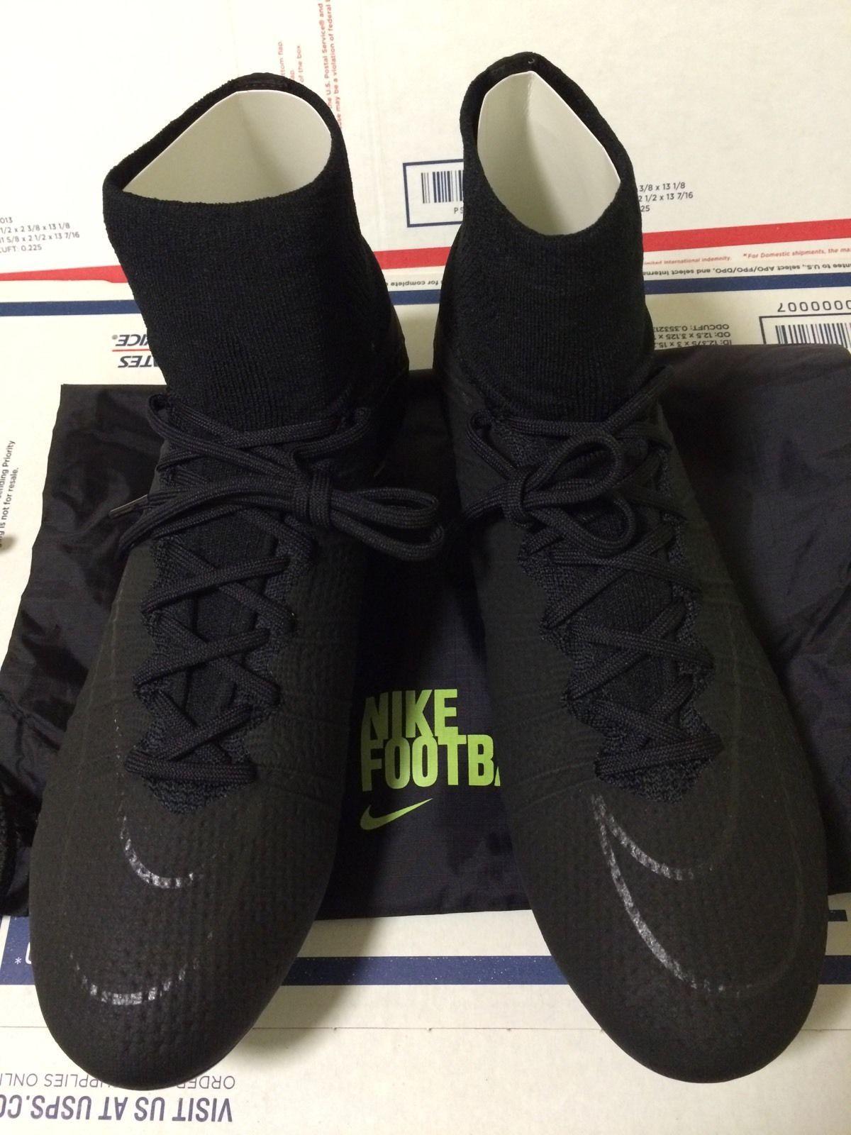 Nike Mercurial Vapor Superfly IV FG - Soccer - Cleats - Academy Pack -  Blackout 37057fce0ee