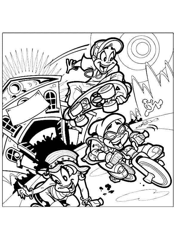 Dibujos para Colorear Deportes 42 | Dibujos para colorear para niños ...