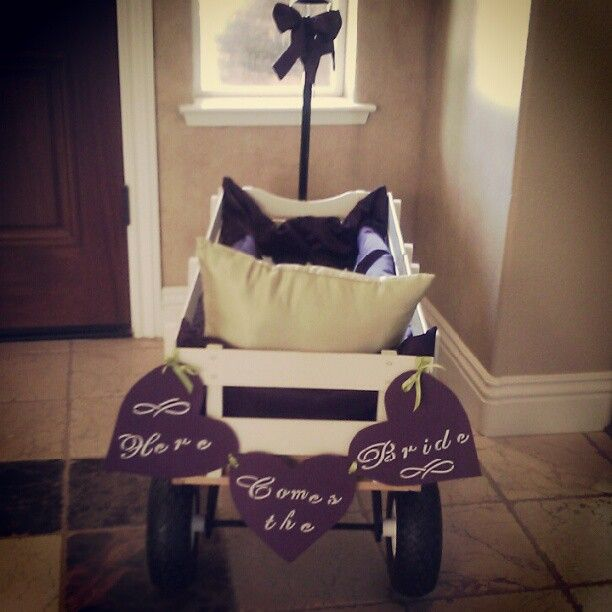 wedding ring bearer wagons Google Search Ashleys getting