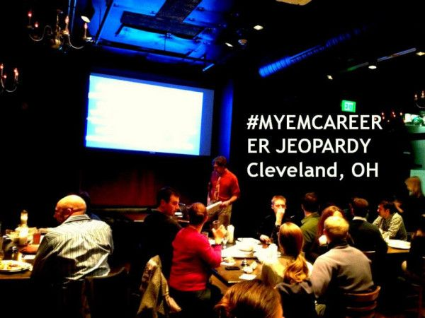 Fun competition at ER Jeopardy for MetroHealth and