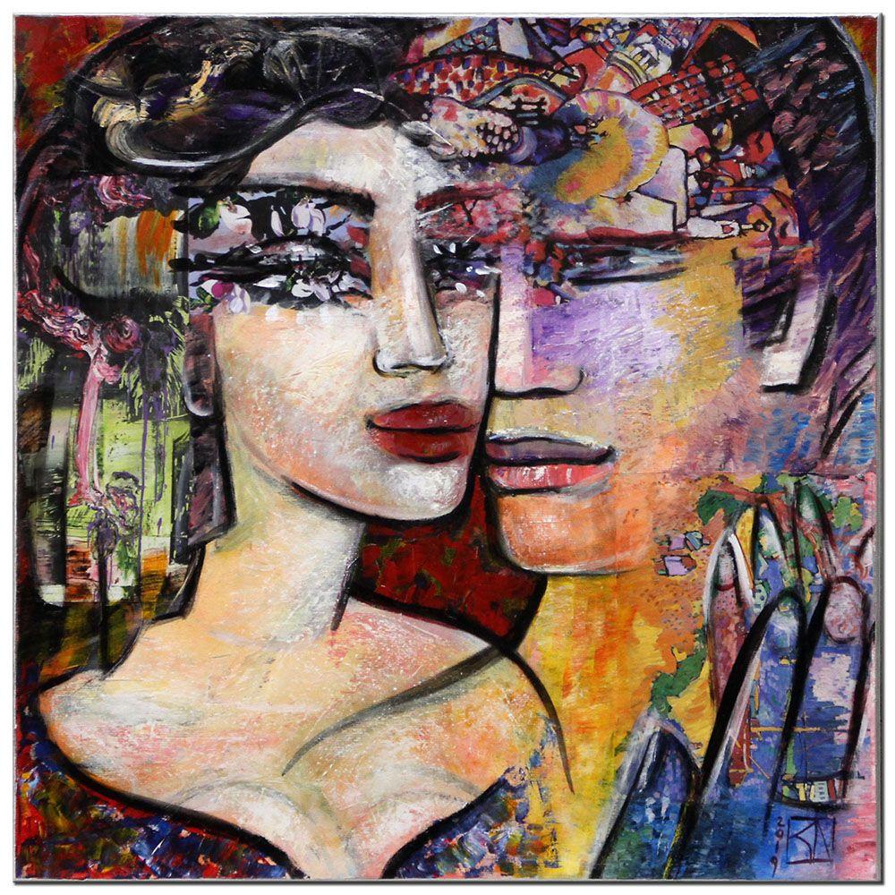 moderne kunst von k namazi die nahe i bilder gemalde künstler modern art galerie