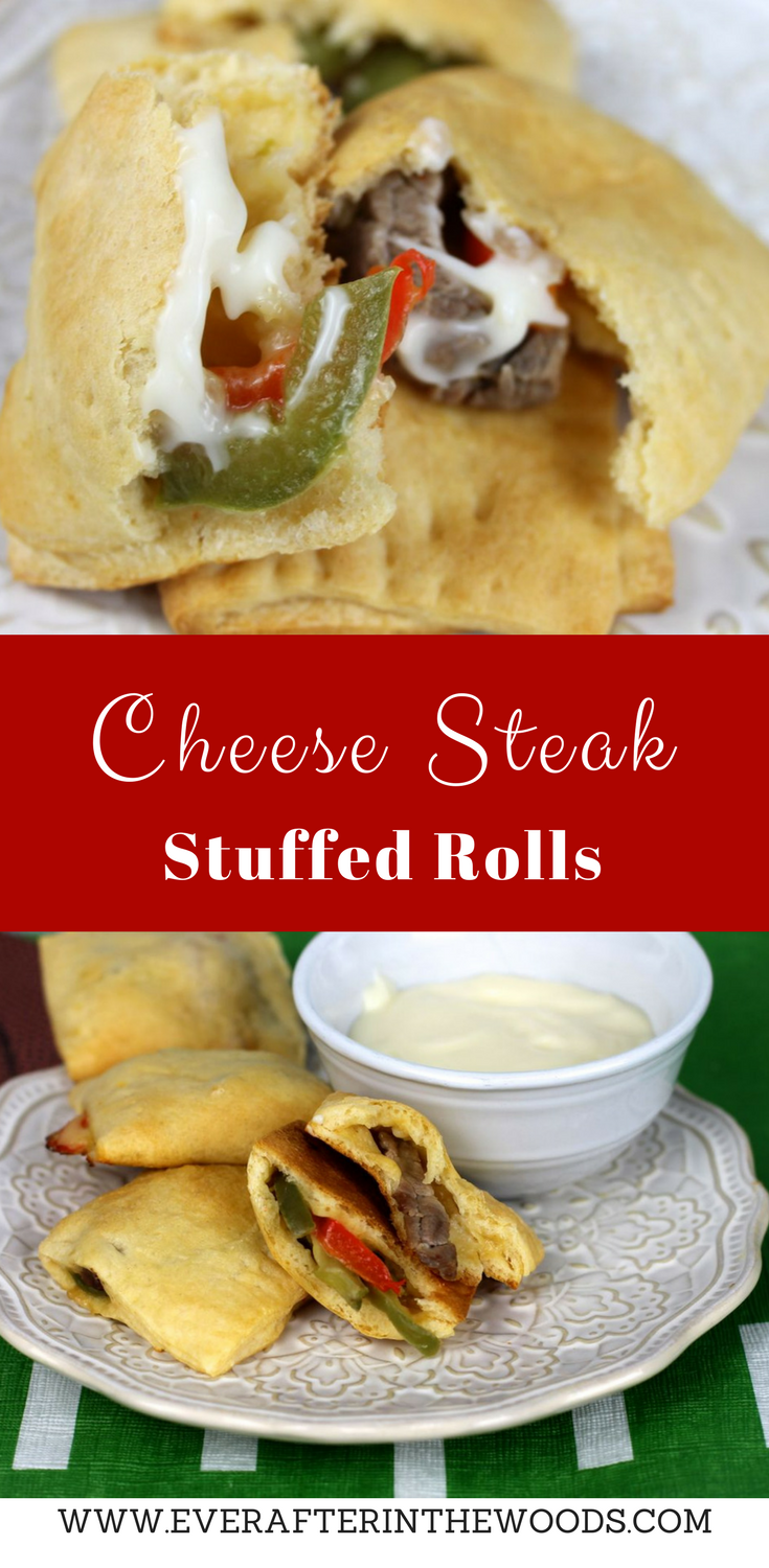 Be Big Game Ready with Cheese Steak Stuffed Rolls AD