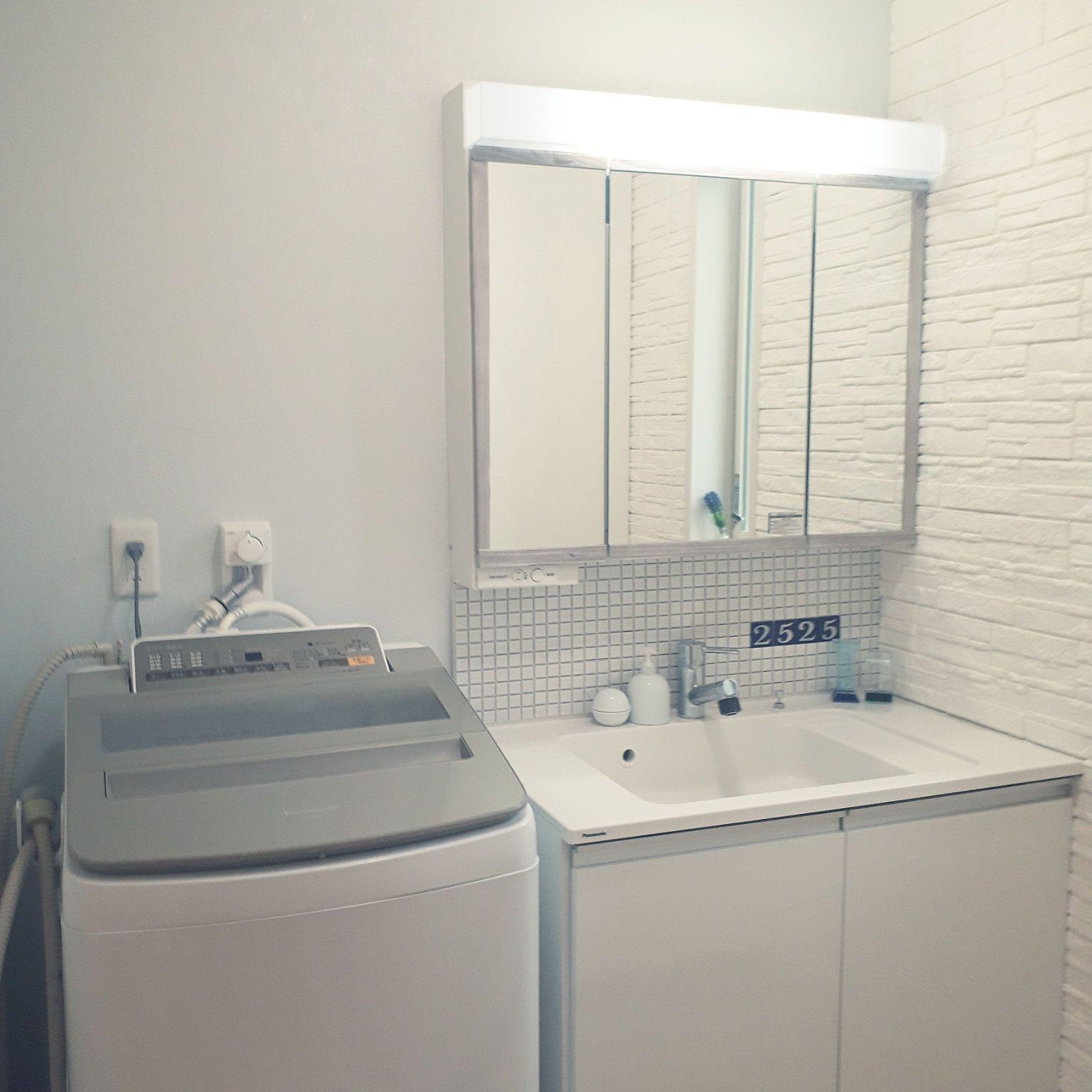 バス トイレ セキスイハイム Panasonic洗面台 Panasonic洗濯機 カメラ