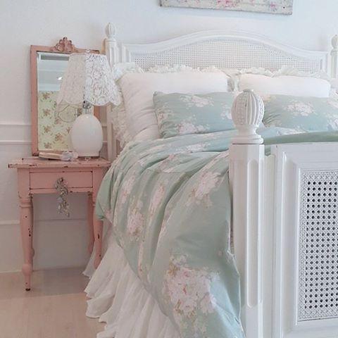 Un Appartamento Very Shabby Chic Shabby Chic Schlafzimmer