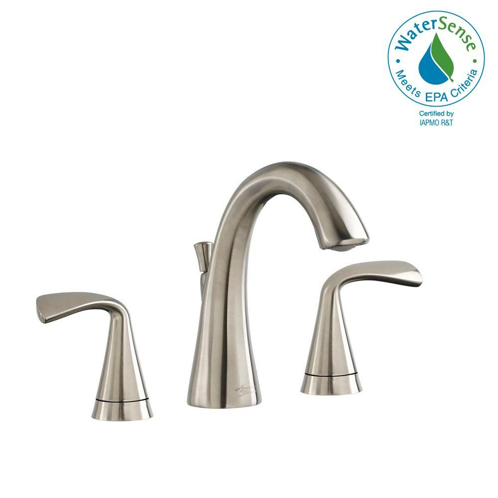 American Standard Fluent 8 In Widespread 2 Handle Bathroom Faucet