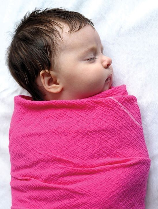 how to make a swaddle blanket