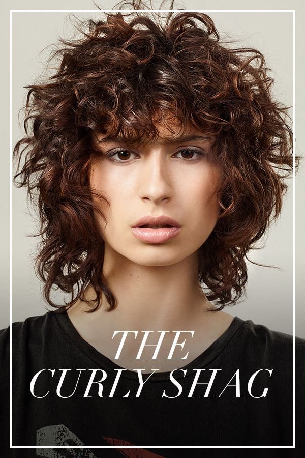 Hair Trend News Looks And Hairstyles By L Oreal Professionnel Curly Hair Styles Haircuts For Curly Hair Curly Shag Haircut