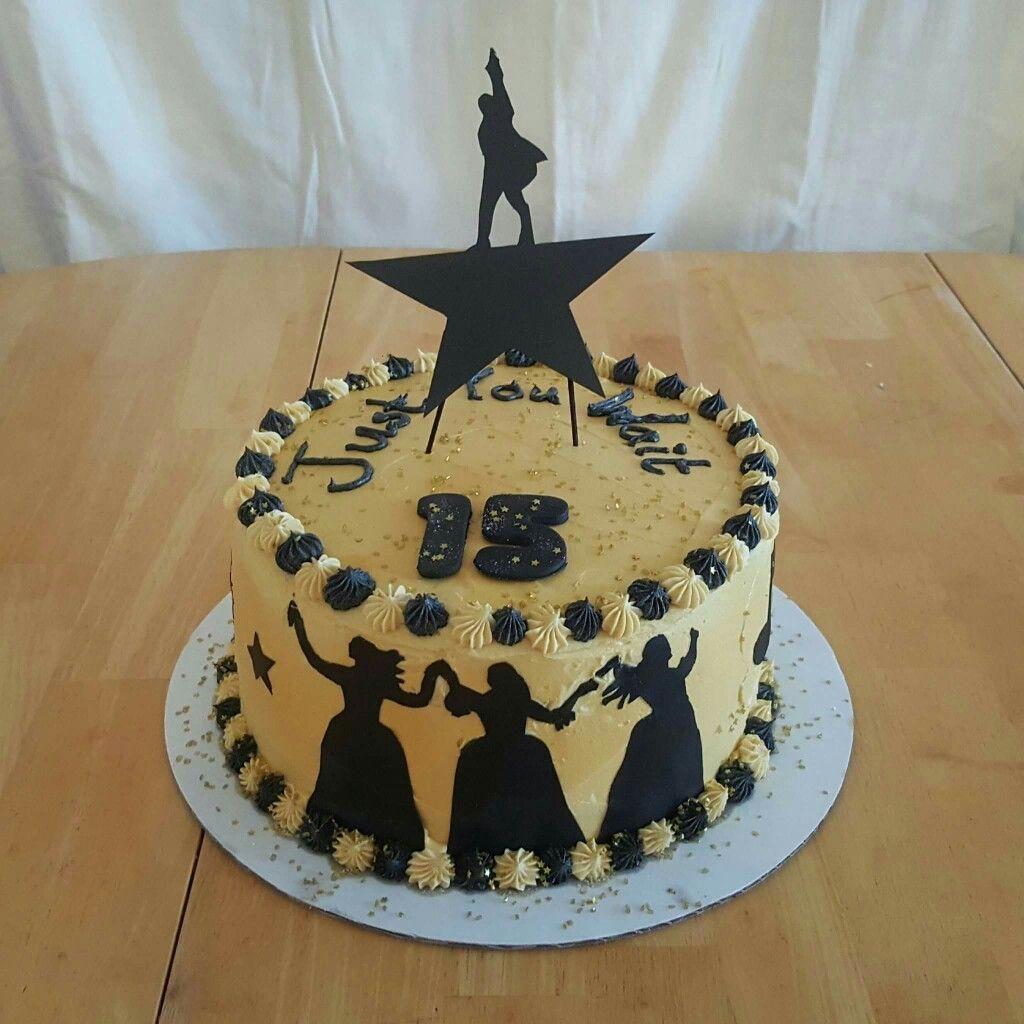 Hamilton The Musical Cake Topper