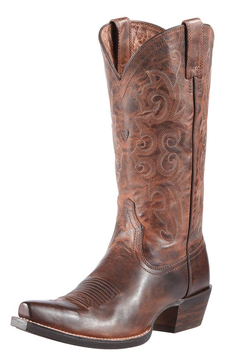 Ariat Women's Brown Alabama Cowgirl #Wedding Boots | Western ...