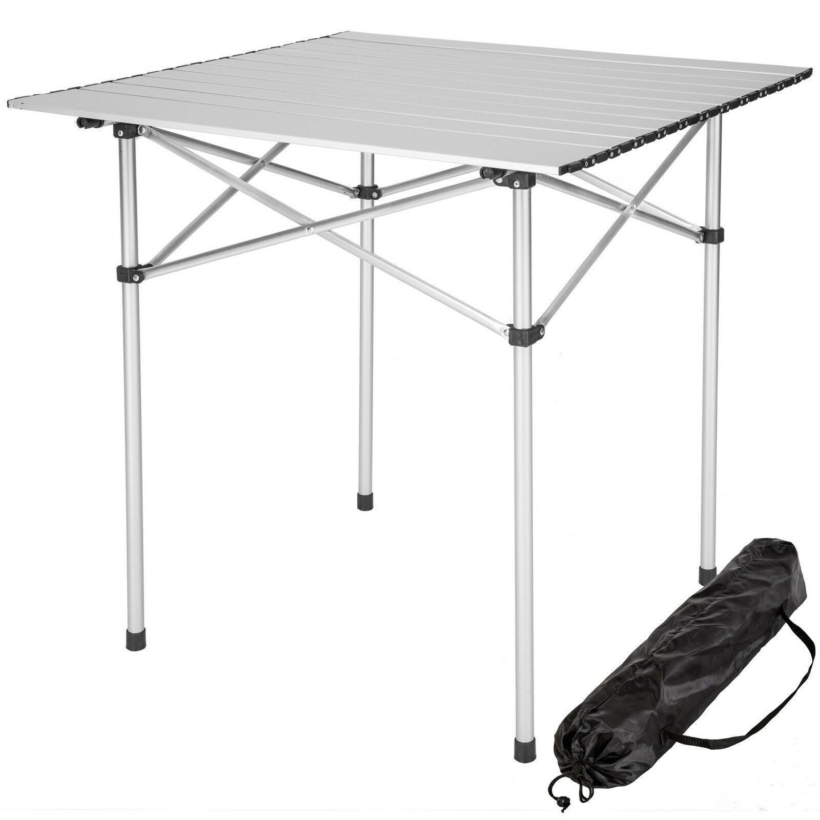 Werbung Aluminium Campingtisch Rolltisch Klapptisch Falttisch Gartentisch Klappbar Ebay