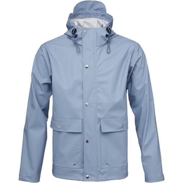 Allure Jacket Cotton Rain Blue Knowledge Recycled In Apparel PX80NnZwkO