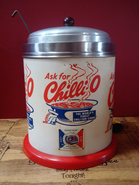 Vintage Commercial Restaurant Style 6 Quart Chilli O Chili Cooker