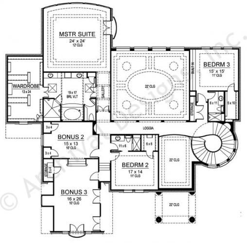 Marseilles Court House Plan Country Style House Plans House Plans Monster House Plans