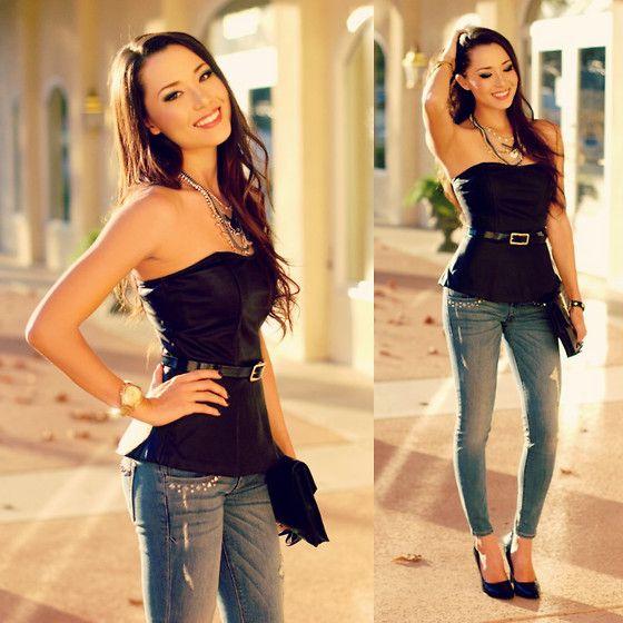 Top skinny jeans – Global fashion jeans models