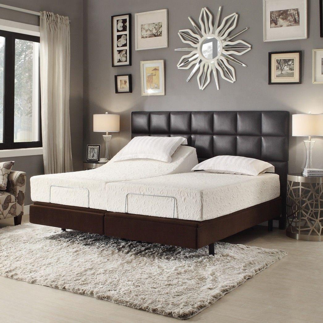 Bedroom Ideas Dark Furniture In 2020 Brown Headboard Bedroom Brown Leather Bed Brown Headboard