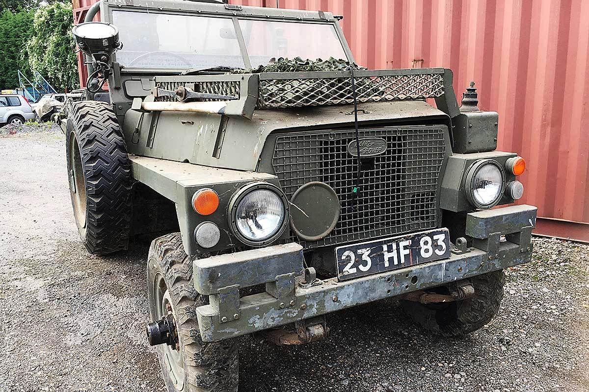 Land Rover Lightweight Desert Reconnaissance Vehicle | Land rovers