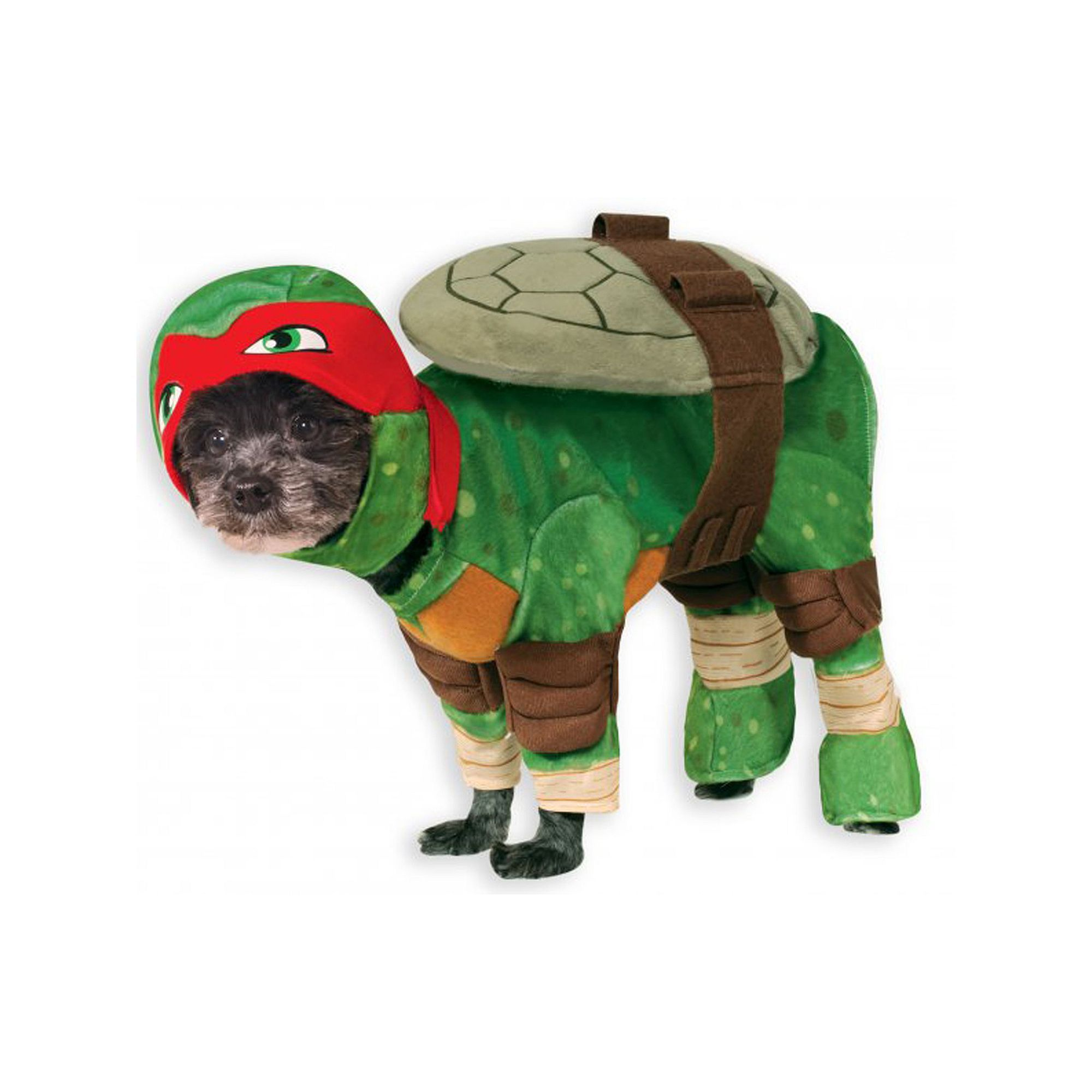 Pet Teenage Mutant Ninja Turtles Raphael Costume, Multicolor