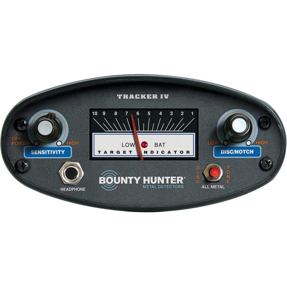 Bounty Hunter Tracker Iv Metal Detector Top Quality Best Warranty