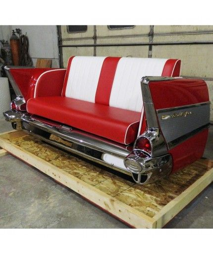 1957 Chevrolet Bel Air Couch