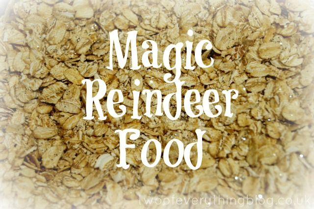 Magic Reindeer Food - make Christmas-scented, sparkly magic reindeer food to help get Rudolph and his friends on their Christmas Eve journey...