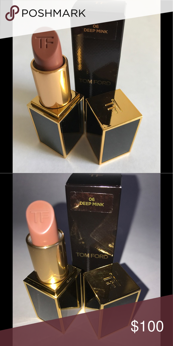 Discontinued Tom Ford Lipstick Deep Mink Discontinued Authentic Full size Tom  Ford Lipstick Deep Mink. New in box. Very hard to find price is Firm!! 4384012aab0