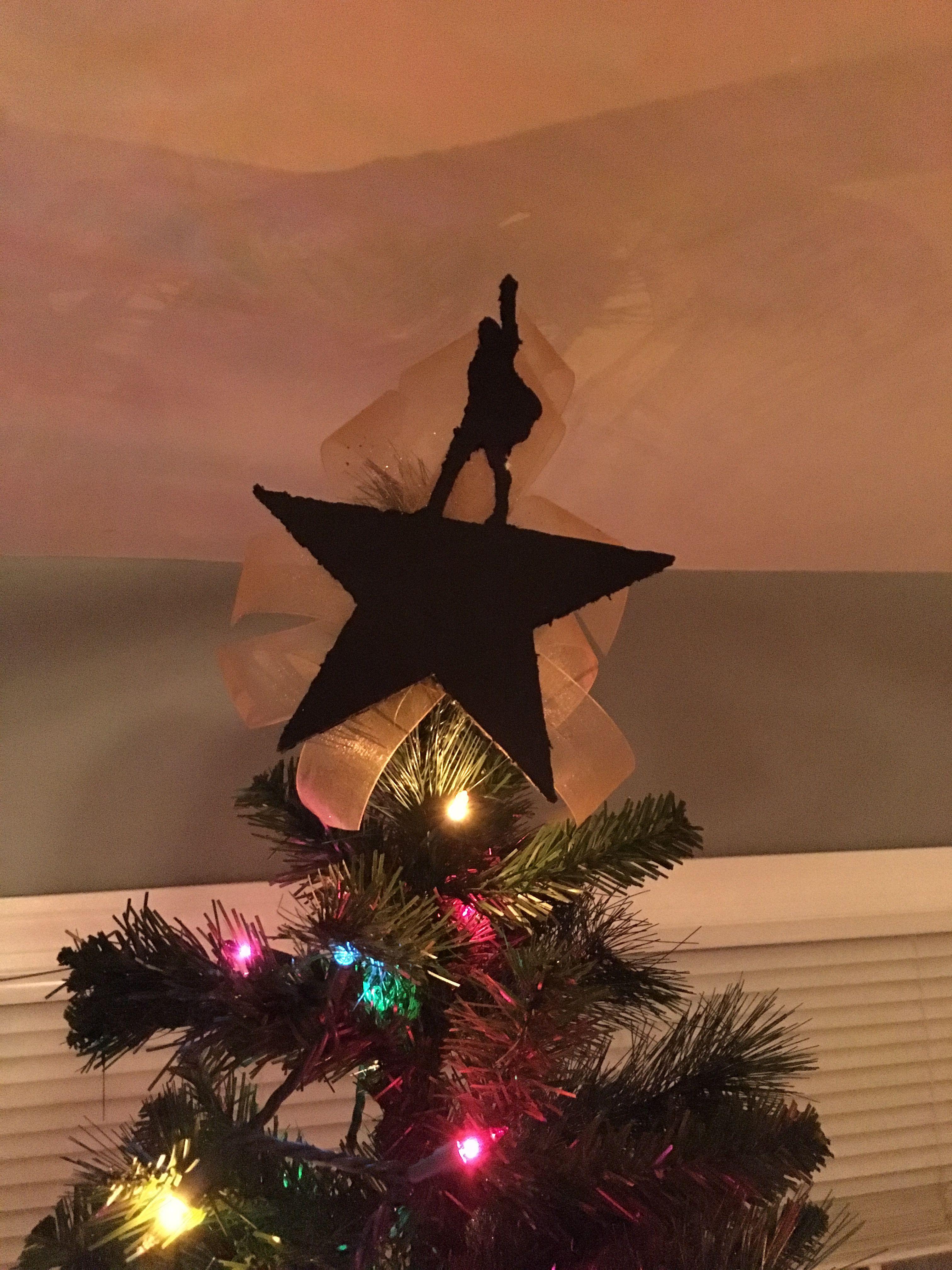 Hamilton Tree Topper Tree Toppers Christmas Tree Tree